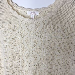 Sun & Shadow Sweaters - SALE! 💗 Cream fringe sweater!